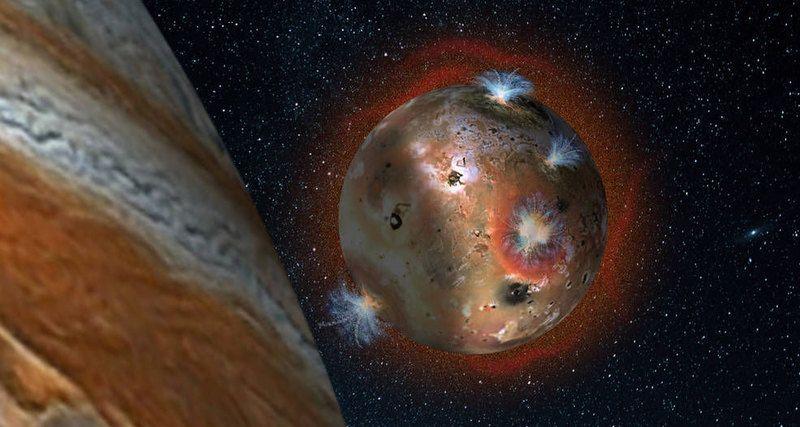 Вулканический спутник