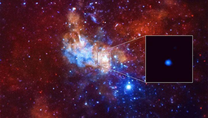 Черная дыра в центре Млечного Пути
