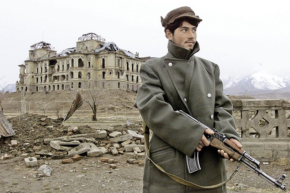 Дворец Амина после войны