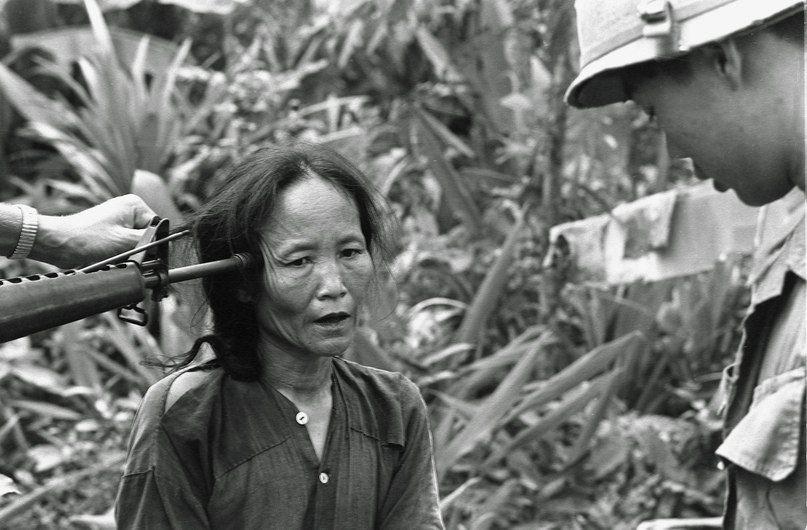 Крестьяне во время войны в Корее