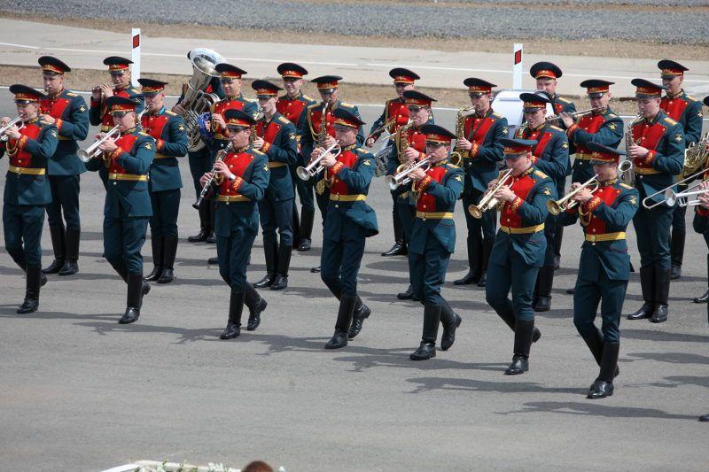 Военный оркестр почетного караула