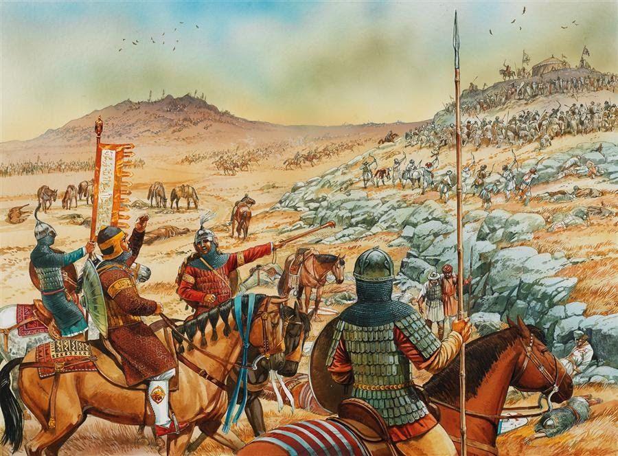 Воины Арабского халифата