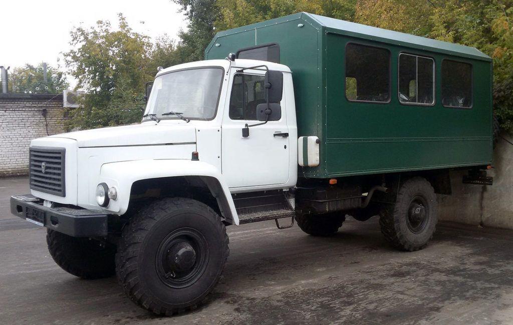 ГАЗ-33081 с жилым модулем