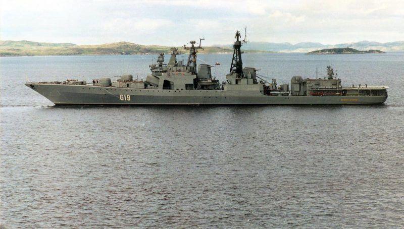 Корабль проекта 1155