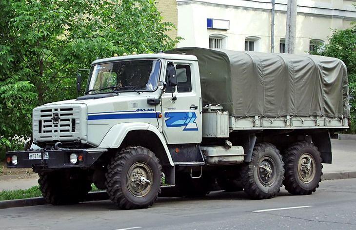 ЗИЛ-4334 с тентом