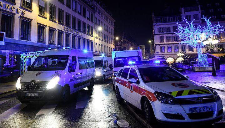 На улицах Страсбурга