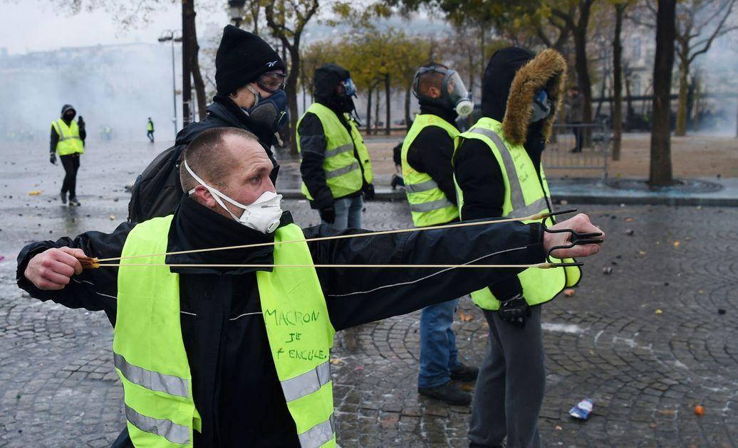 Погромы во Франции