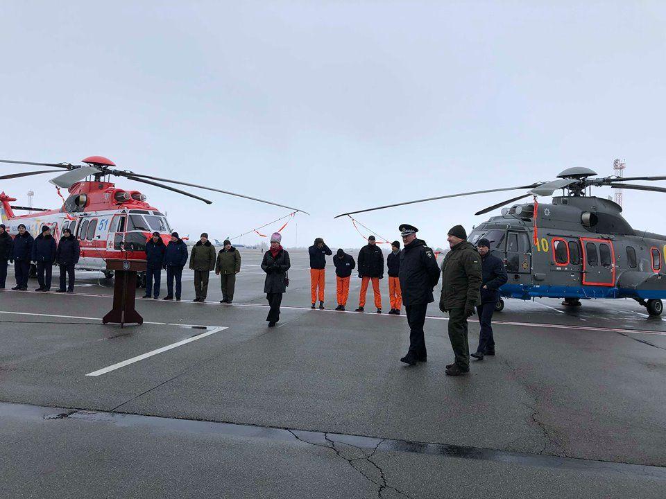Получение вертолетов