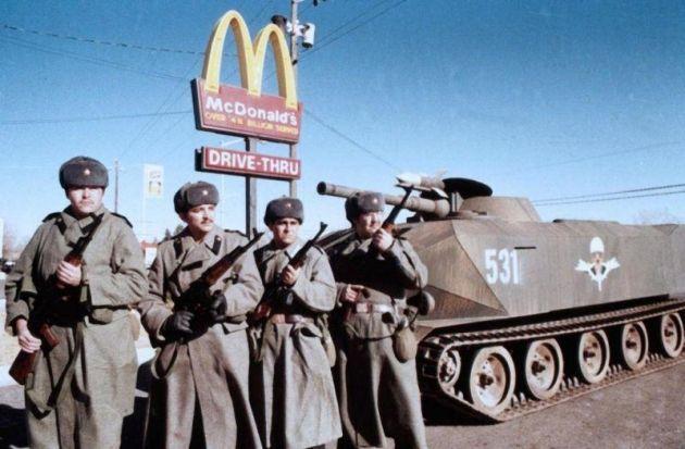 Русские войска в Америке