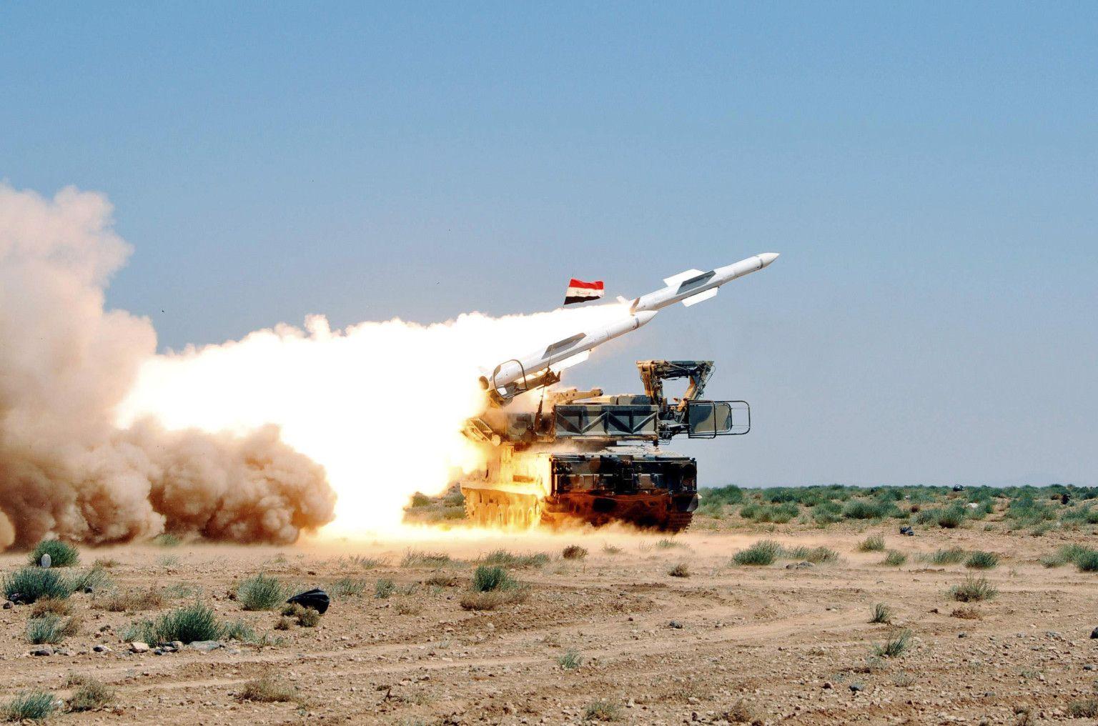 Сирийская ПВО