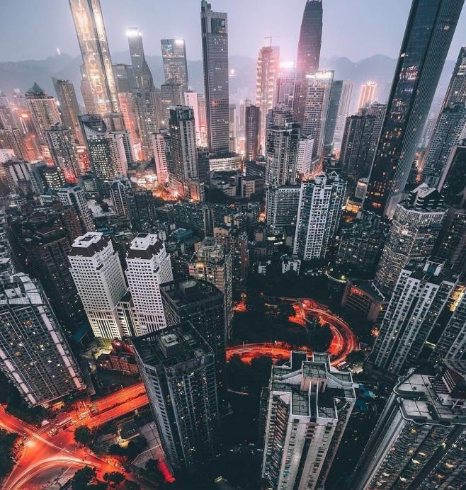 Китайский мегаполис