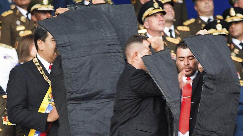 Охрана президента Венесуэлы