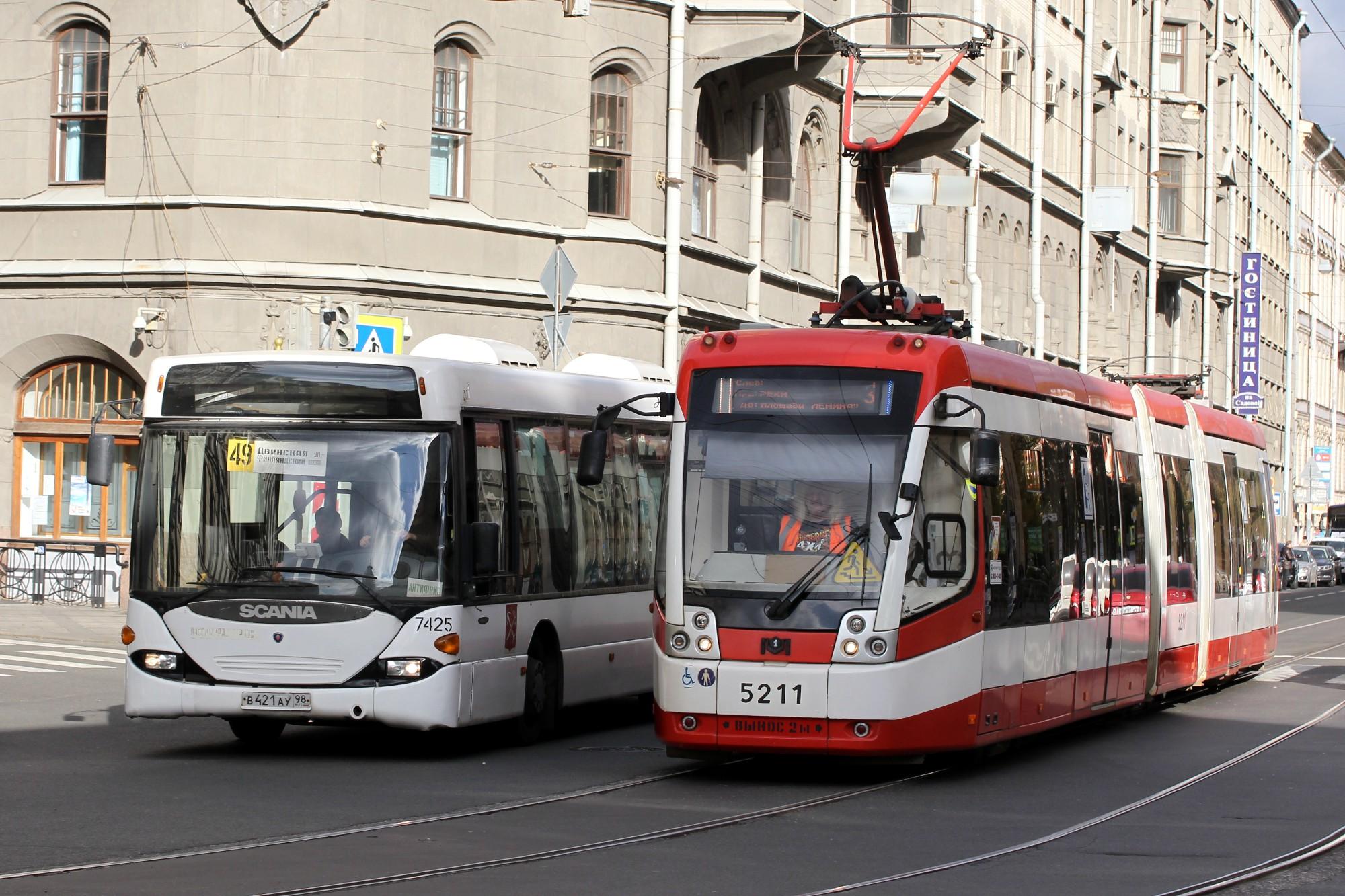 Российский городской транспорт
