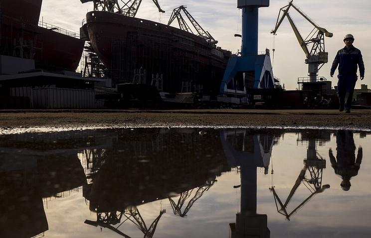 Строящееся судно
