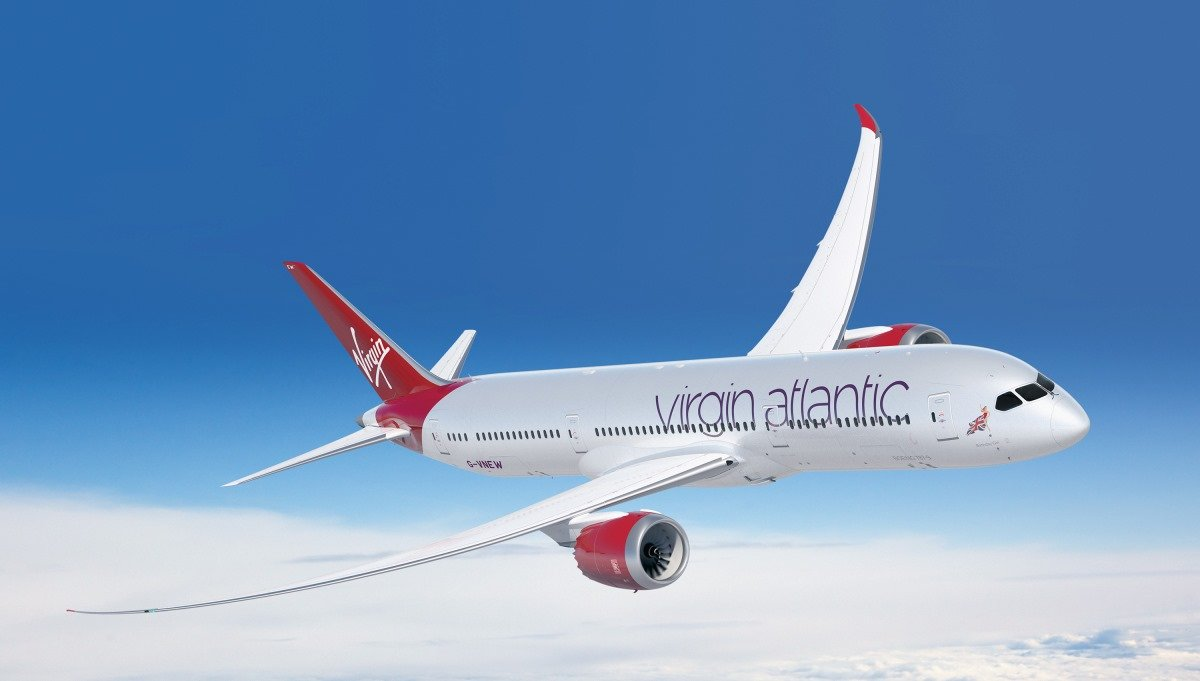 Boeing 787-9 Dreamliner в воздухе