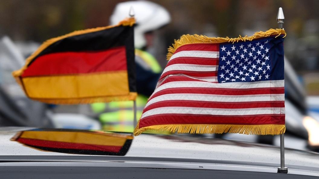 Флаги Германии и Украины