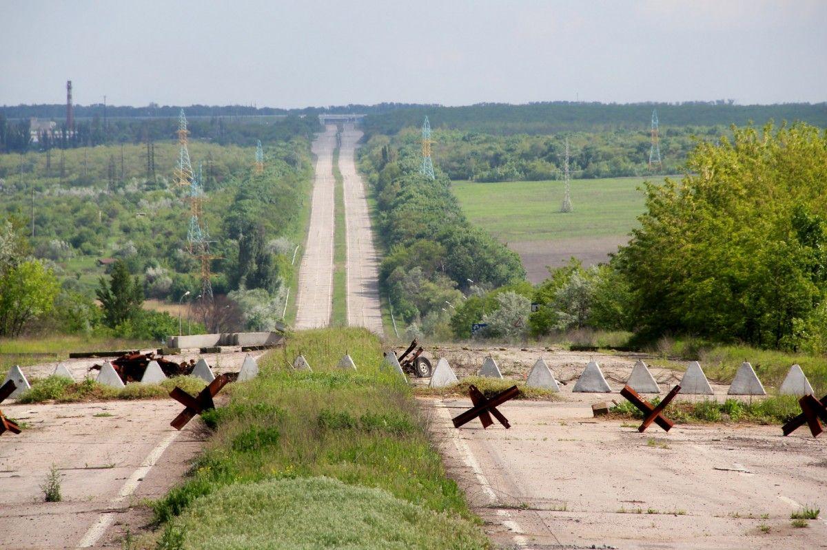 Граница Донбасса
