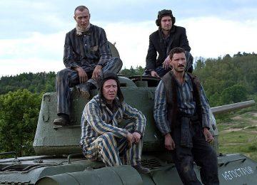 """Кадр из фильма """"Т-34"""""""