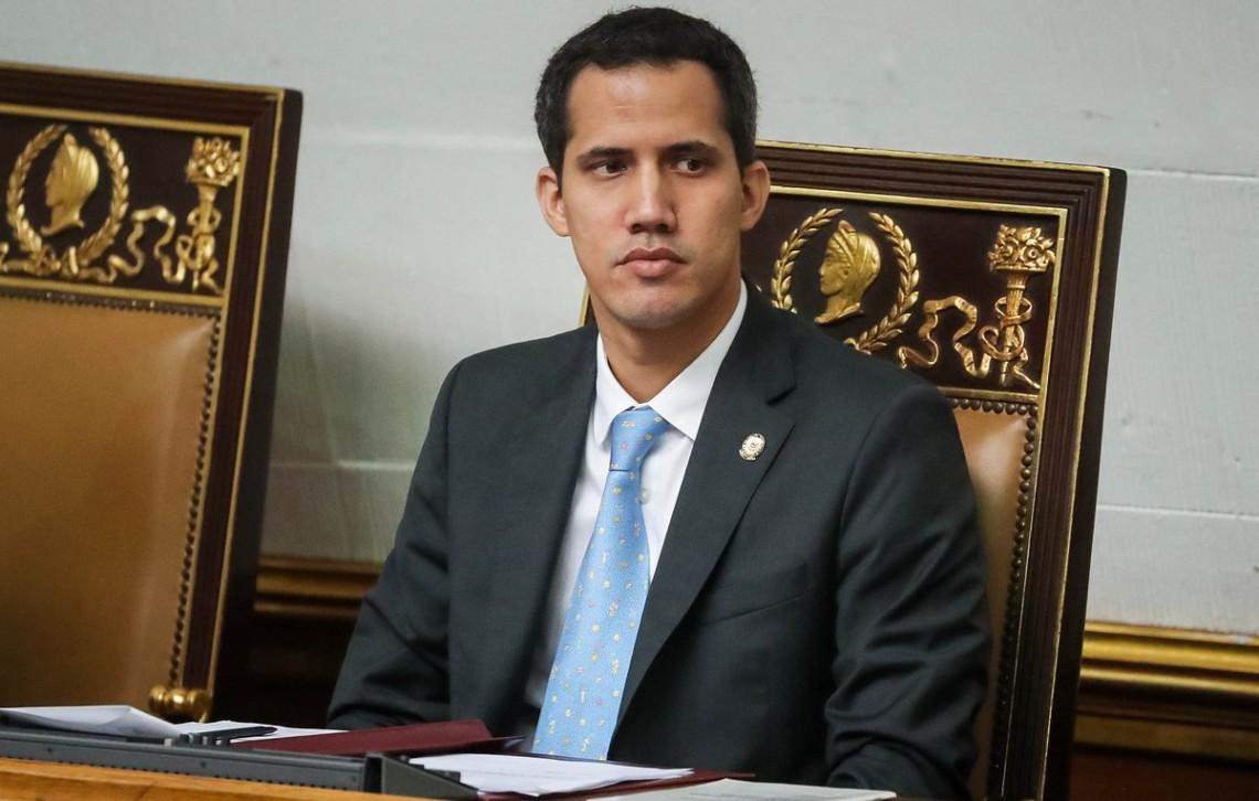 Лидер оппозиции Гуайдо
