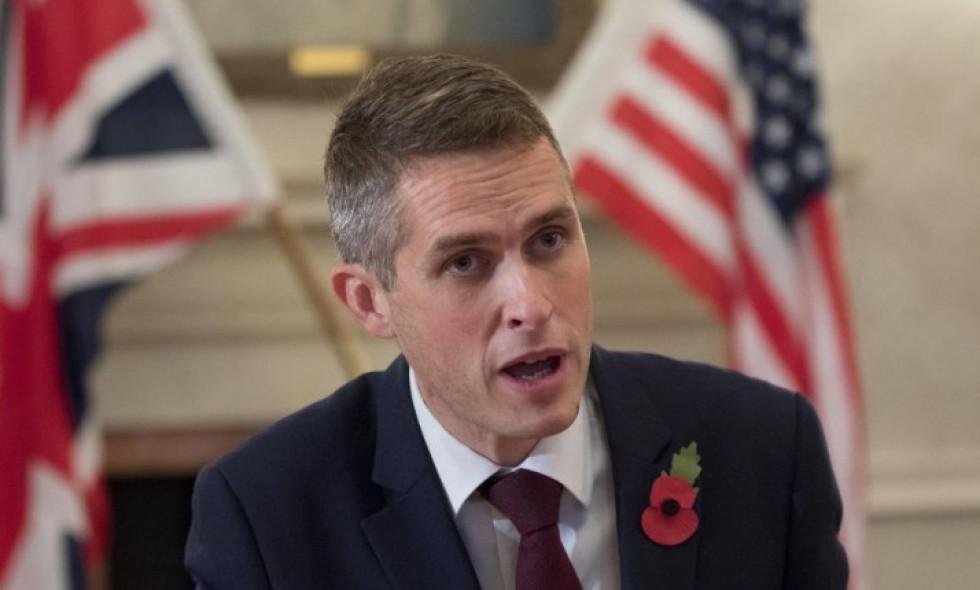 Министр обороны Великобритании