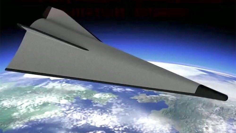 Ракета над Землей