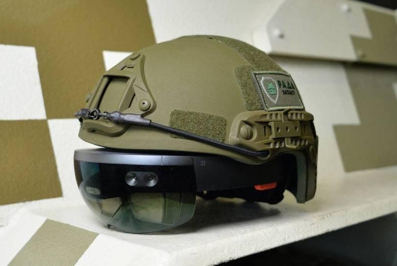 Шлем для кругового обзора