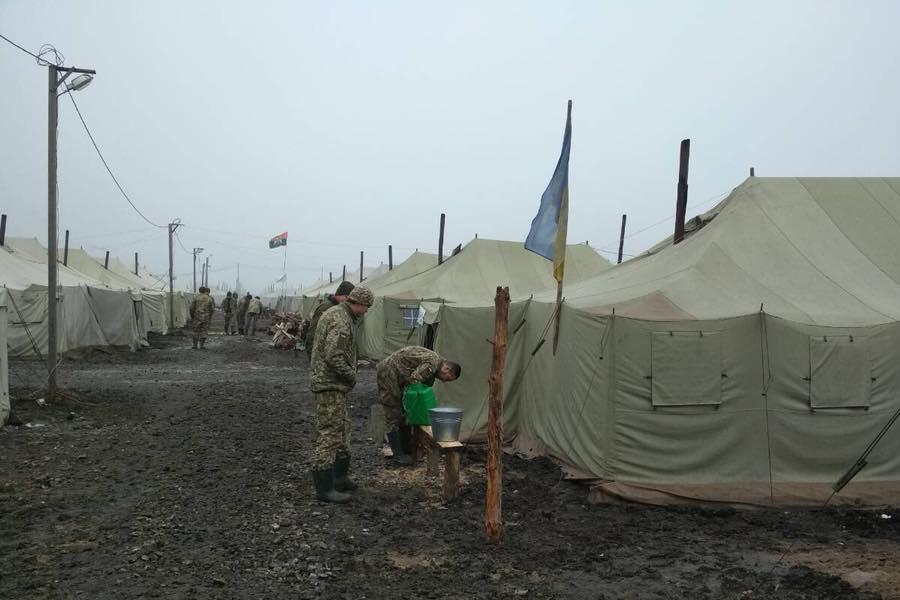 Солдаты на полигоне