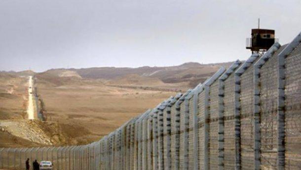Забор вокруг сектора Газа