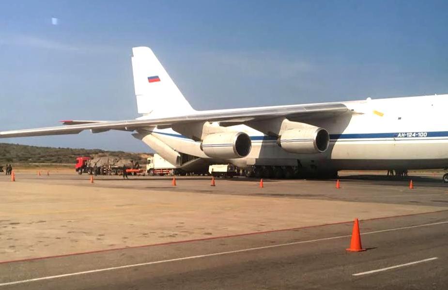 Ан-124 в Венесуэле