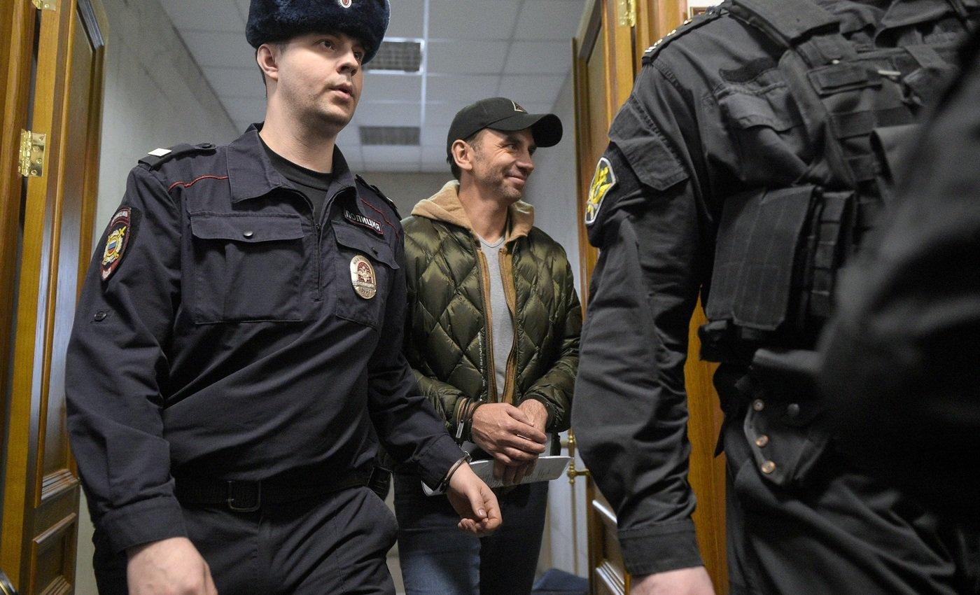 Арестованный Абызов