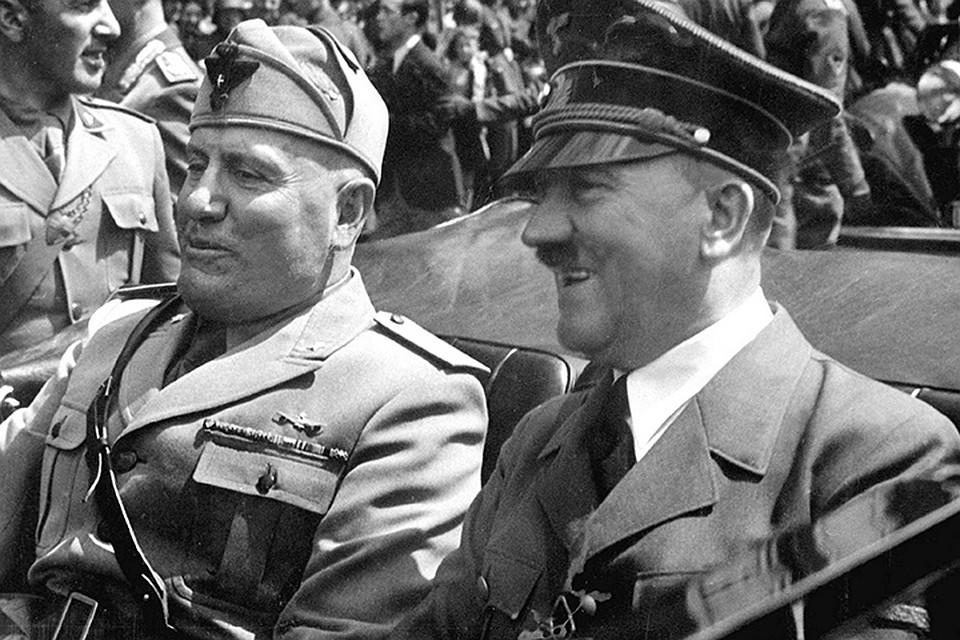 Гитлер в автомобиле