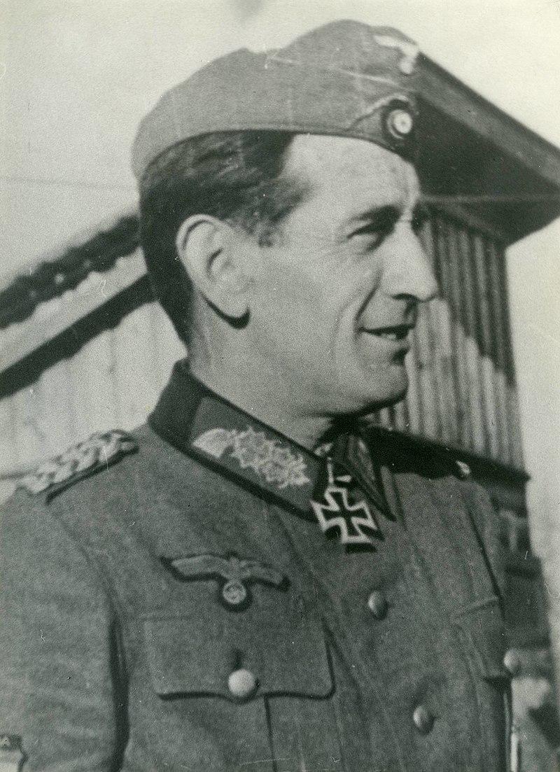 Командир «Голубой дивизии»