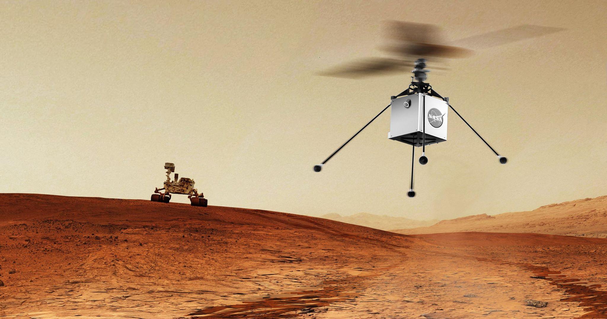 Марсианский вертолет