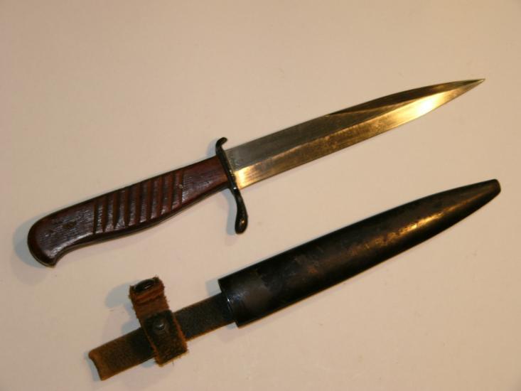 Немецкий траншейный нож