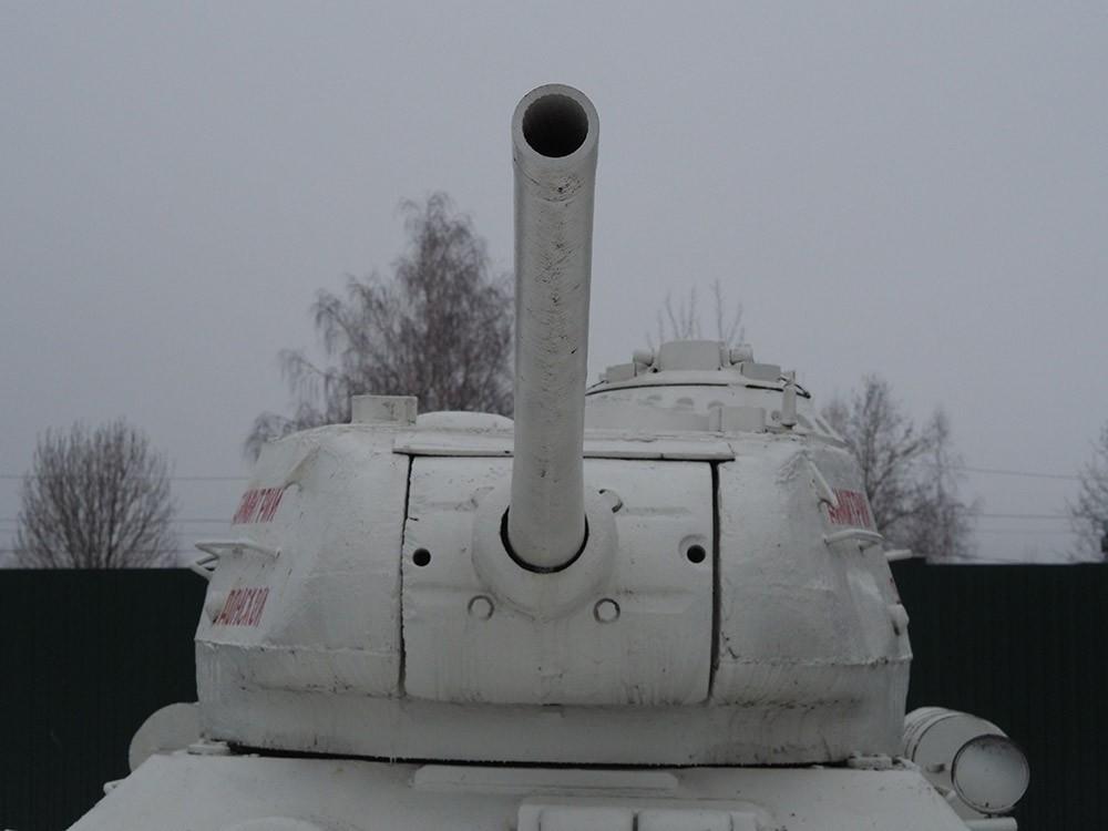 Отверстия в башне Т-34