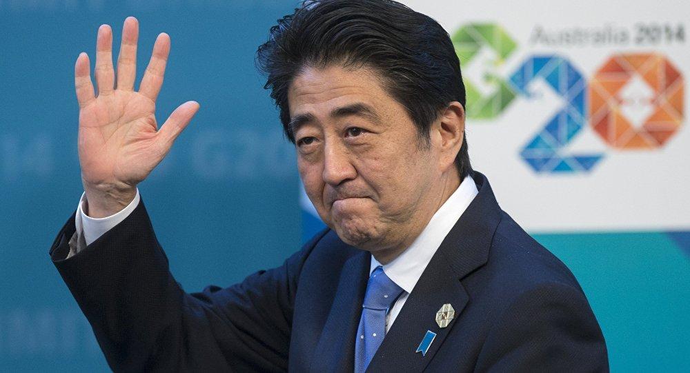 Премьер-министр Синдзо Абэ