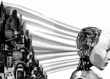 Робот и город