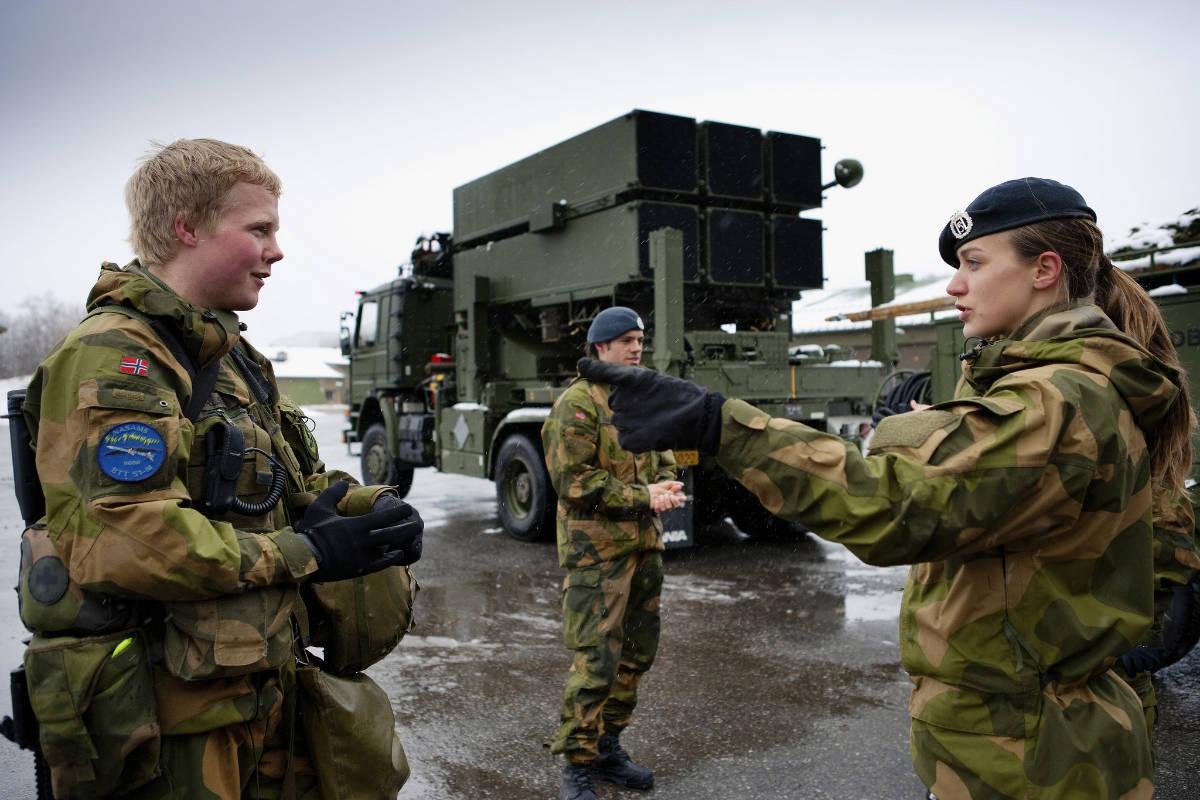 Солдаты Норвегии