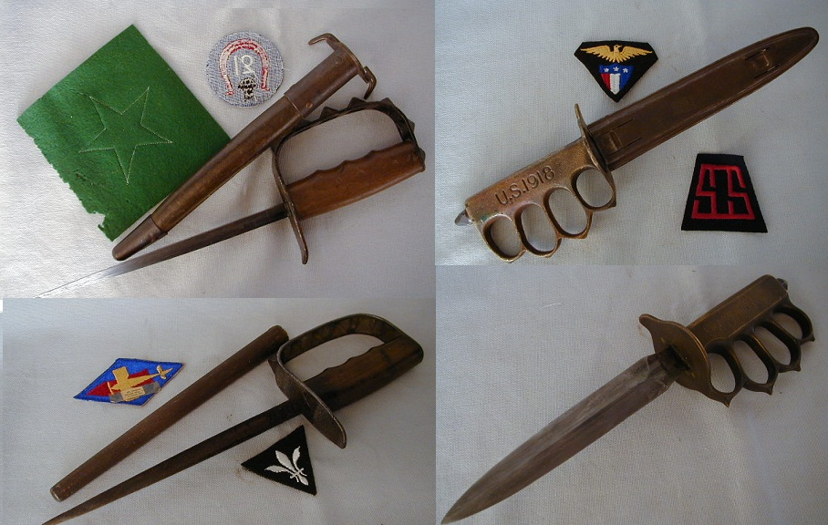 Траншейные ножи Первой мировой
