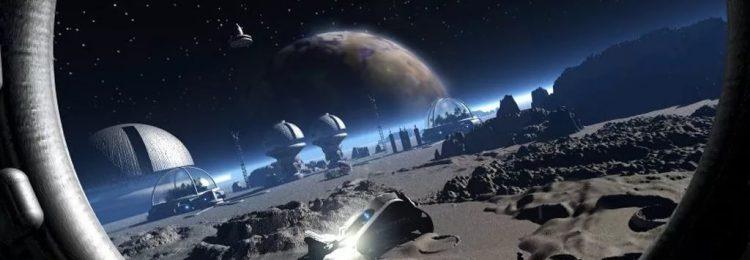 Колония на Луне