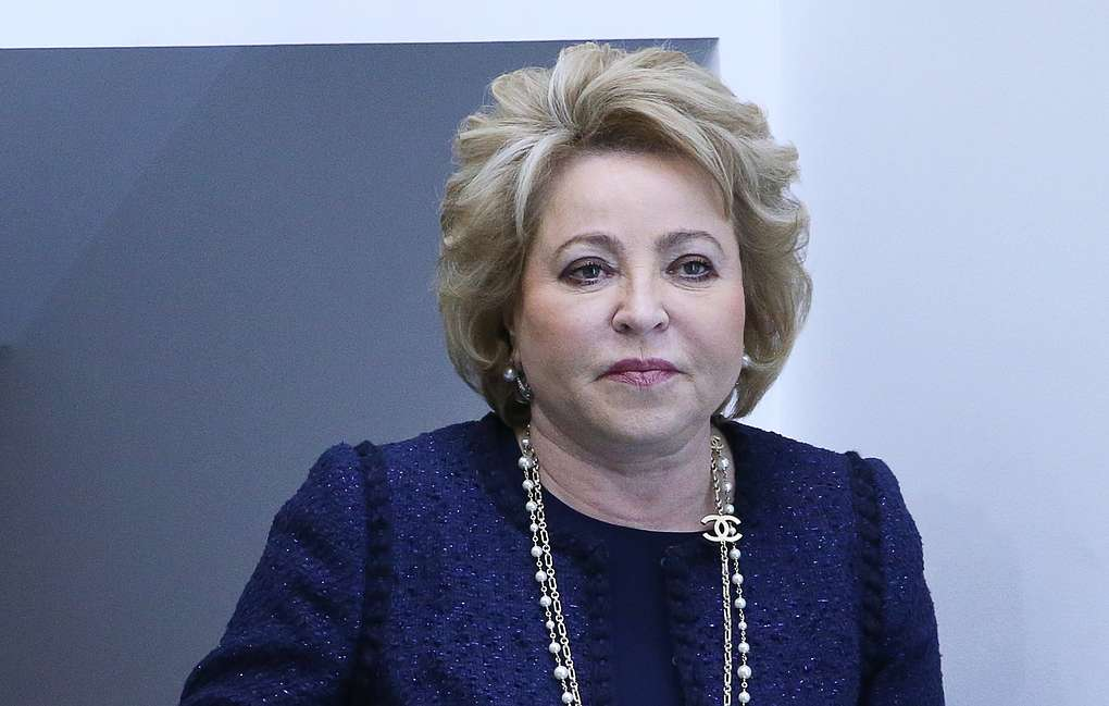 Пенсионерка Матвиенко