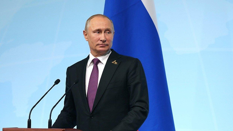 Путин у микрофонов