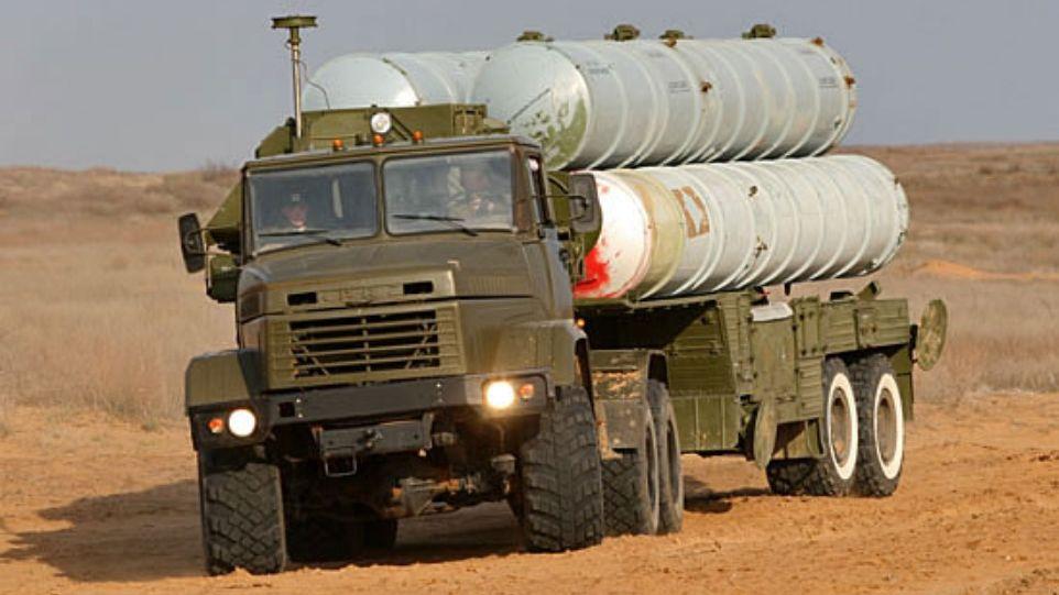 С-300 в пустыне