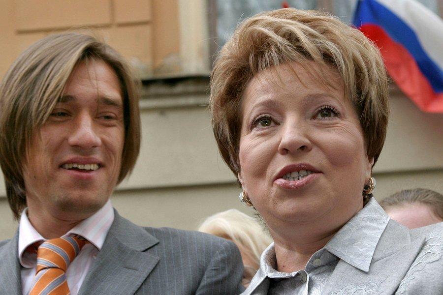 Сергей и Валентина Матвиенко
