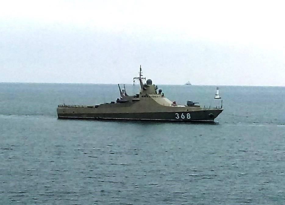 «Василий Быков» в море