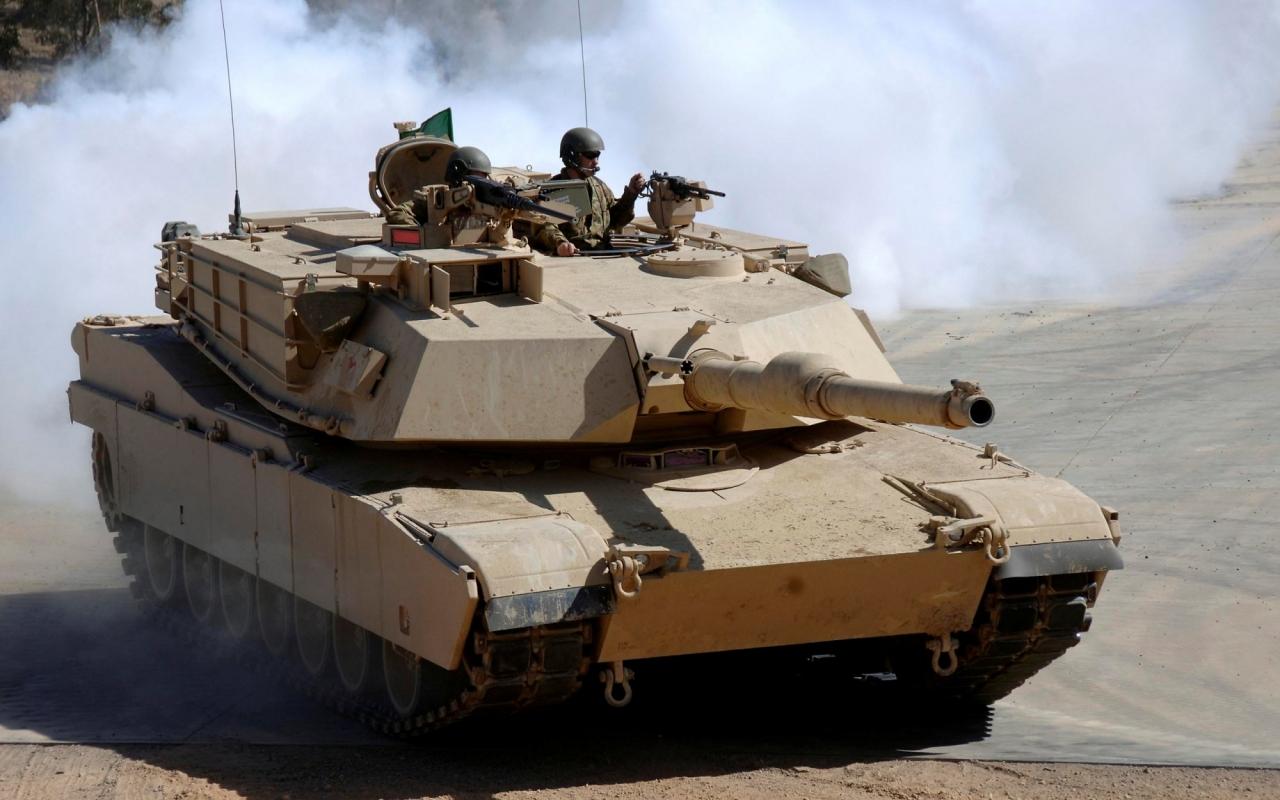 Abrams в движении