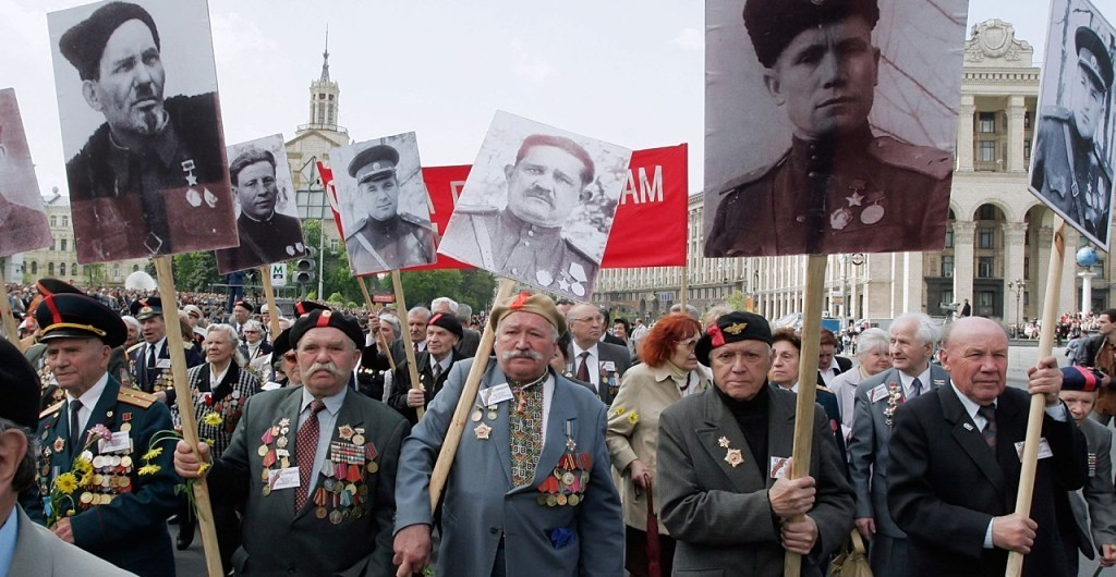 «Бессмертный полк» в Киеве