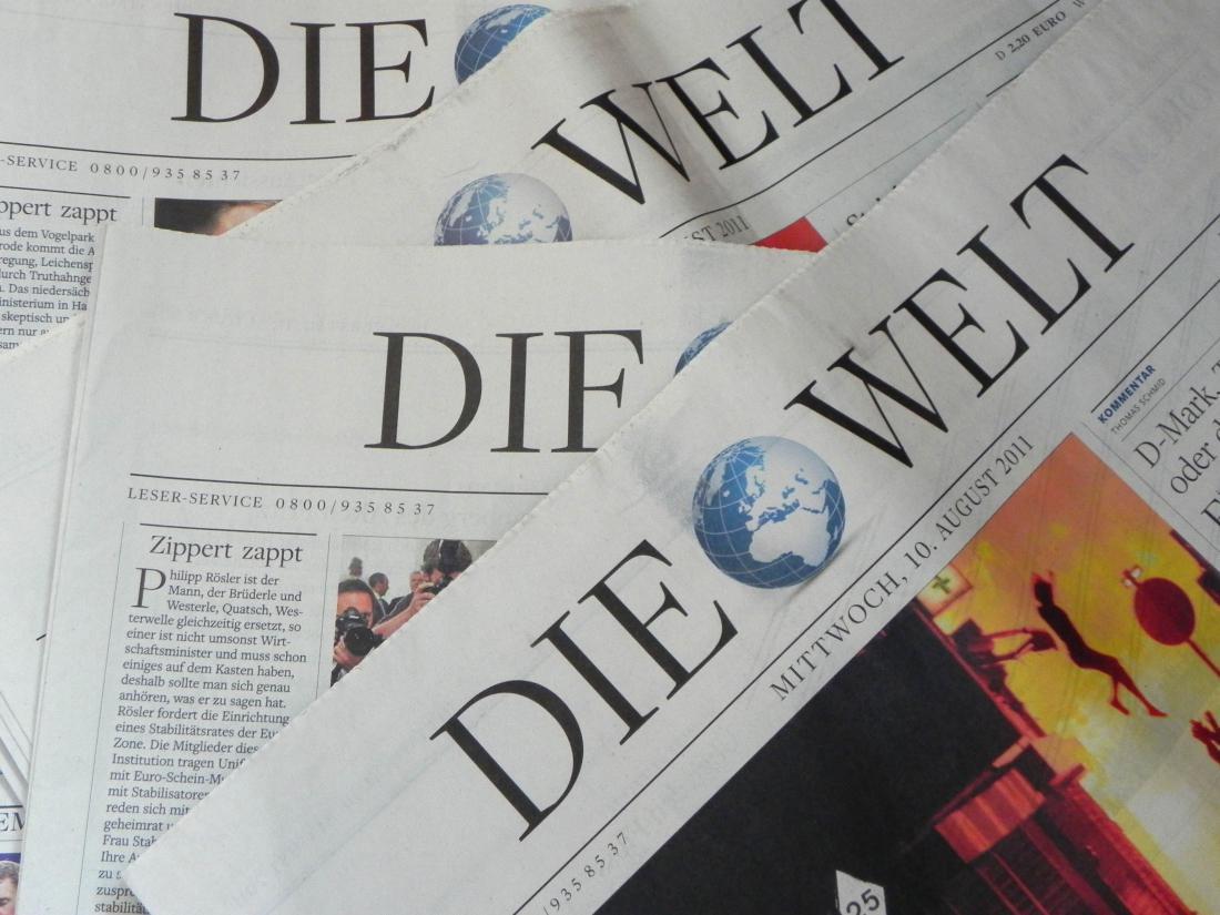 Газета Die Welt