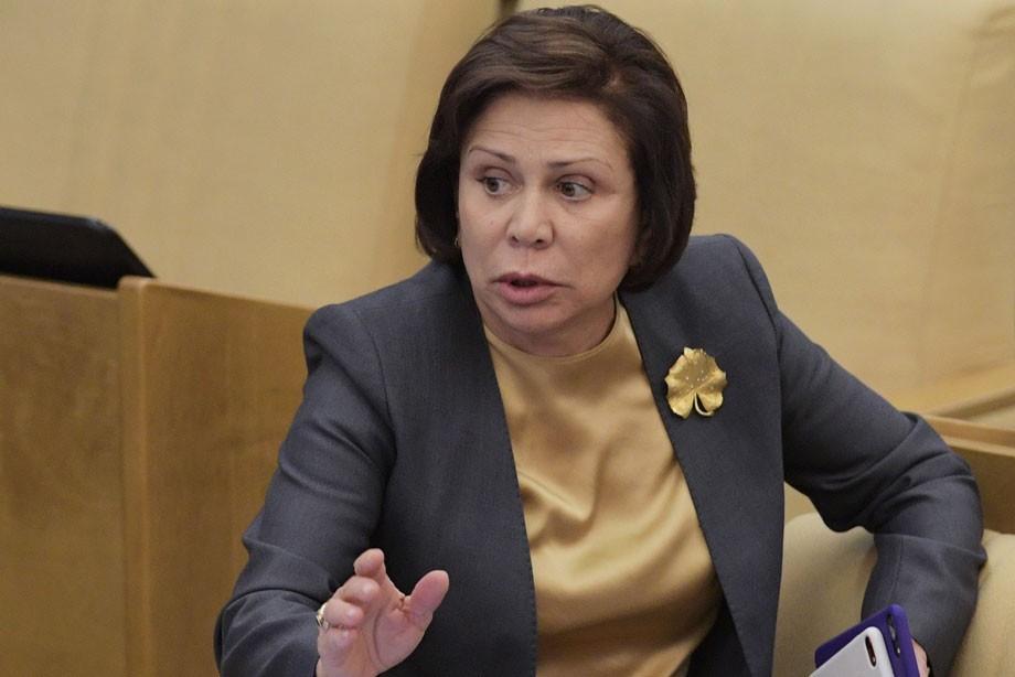 Ирина Роднина в Госдуме