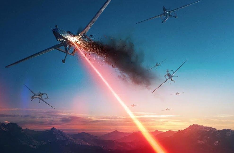 Лазер сбивает самолеты